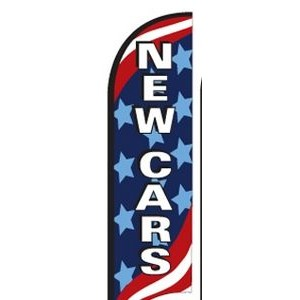 11' Street Talker Feather Flag Kit (New Cars)