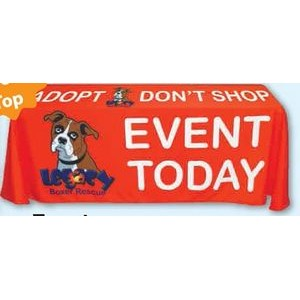 "4D Table Covers (4' x 30"" x 30"")"