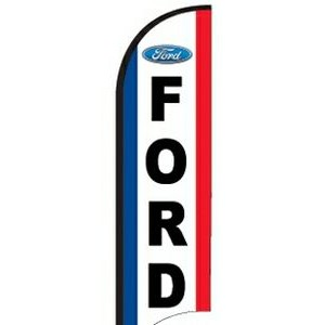 11' Street Talker Complete Feather Flag Kit (Ford®)