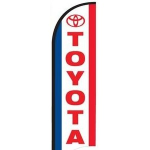 11' Street Talker Feather Flag Kit (Toyota®)